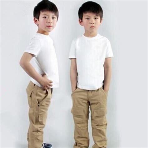 Tshirt Basic O Neck Putih buy wholesale plain white t shirts children from