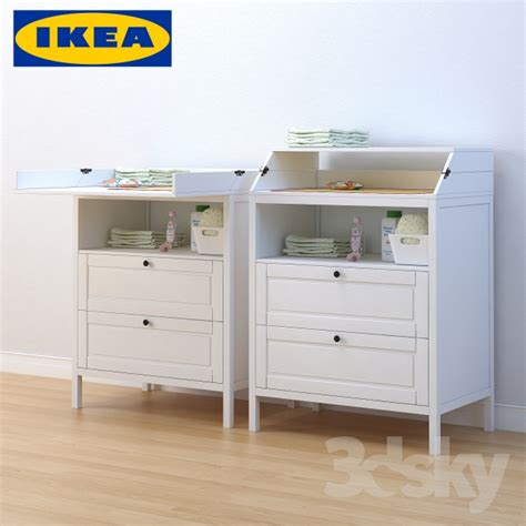 Ikea Portable Changing Table 3d Models Miscellaneous Ikea Sundvik Changing Table