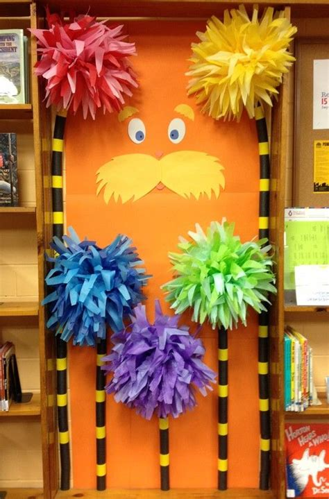 How To Make Lorax Trees Out Of Tissue Paper - 25 best ideas about the lorax on the lorax