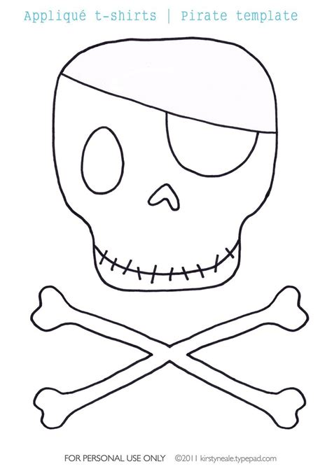 1000 Ideas About Pirate Template On Pinterest Pirate Skull Cut Out Template