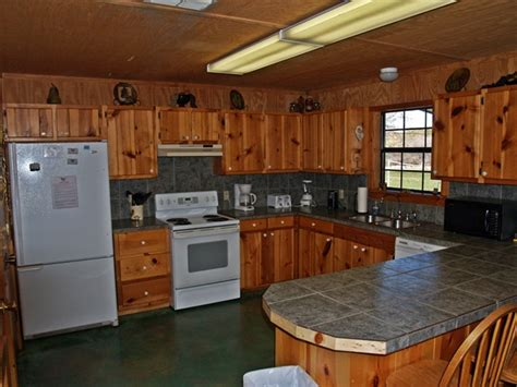 River Rock Kitchen by Frio River Cabins Frio Family Getaway