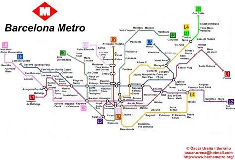 subway map underground barcelona metro map barcelona spain
