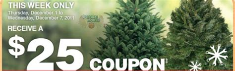 home depot canada buy a christmas tree get 25 to spend