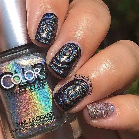 awesome mirror  metallic nail art ideas belletag