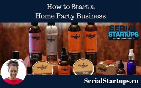 how to start a home business serial startups