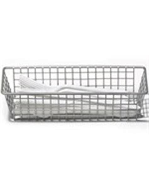 white wire mesh drawer organizer wire baskets bins and organizers at organize it