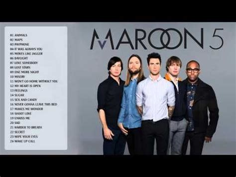 maroon 5 best songs maroon 5 greatest hits album 2015 edition best