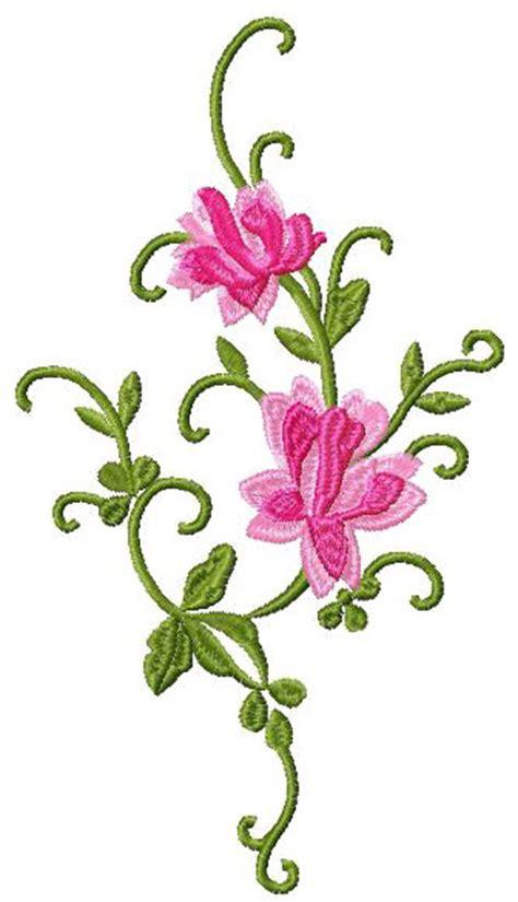 flower design image download flower decor element free machine embroidery design