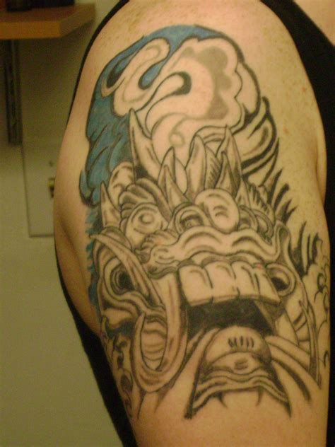 tattoo naga bali barong bali tatto pinterest tattoo yinyang tattoo