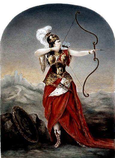 amazon mythology penthesilea or penthesileia was an amazonian queen in