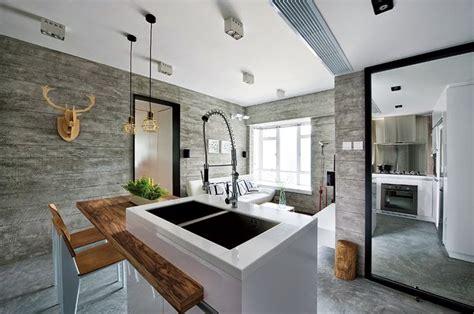 casas en interiores interior de una casa moderna en gris