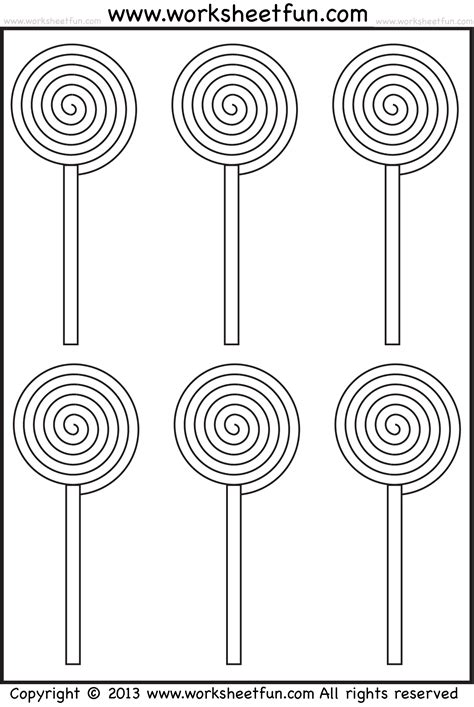 Free Color Worksheets For Preschoolersl