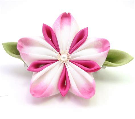 Paper Kanzashi Flower Tutorial | gochemoche tsumami kanzashi tutorial by gochemoche