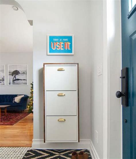ikea entryway hack storage hacks ikea shoe and entryway on pinterest