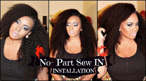 no part weave hairstyles sew in hair weave tutorial short hairstyle 2013