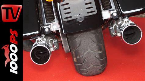 Euro 4 Motorrad Sound by Video Kesstech Auspuffanlagen F 252 R Harley Davidson Und Bmw