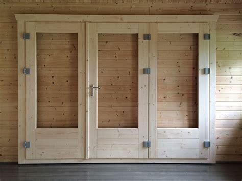 Log Cabin Interior Doors New 3 Panel Bi Fold Door Keops Interlock Log Cabins