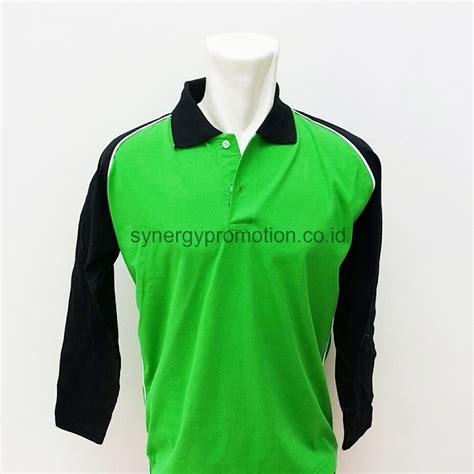 Kaus Kaos Katun Berkerah Polo Shirt Cotton Home Made Hi Quality polo shirt lengan panjang synergy promotion