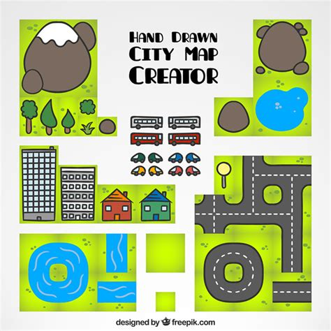 map creator free city map creator vector free
