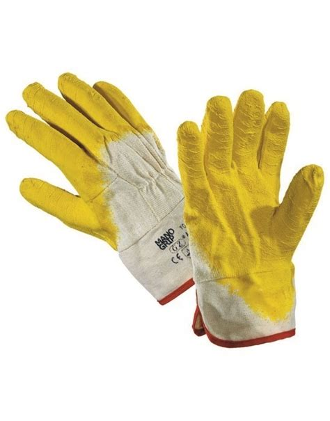 Wristband Lining ansell hycron nitrile entirely coated gloves with