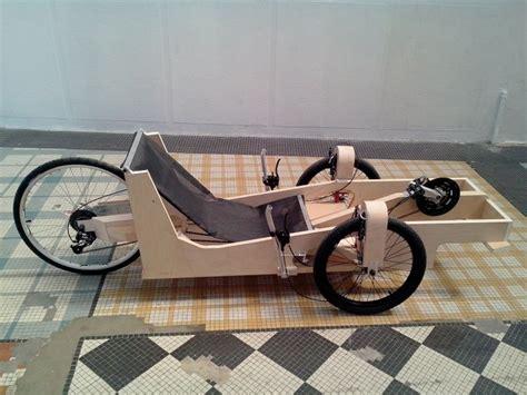 velomobile designs velo couche pedalier caisse  savon