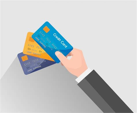 Credit Card Adobe Illustrator Template by Credit Card Vector Illustration With Holding Free