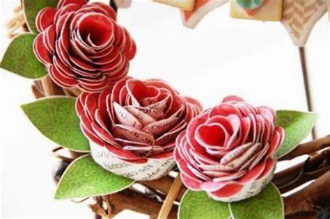 kreasi kerajinan bunga  kertas