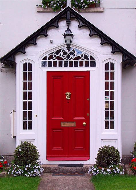 red front door what hardware is needed for an exterior front door door