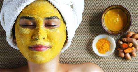 manfaat masker wajah kunyit  tampil lebih cantik