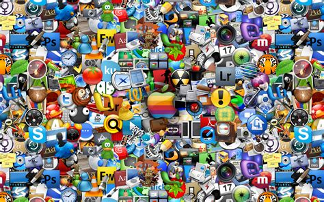 wallpaper for desktop icons mac icons wallpaper 83636