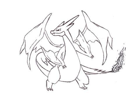 Charizard Y Drawing by Mega Charizard Y By Divineholic On Deviantart