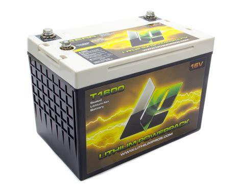 battery pack for l lithium pros t1600 battery power pack 16v 750