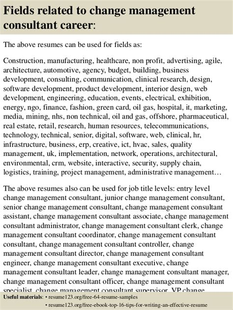 sle resume change management consultant top 8 change management consultant resume sles