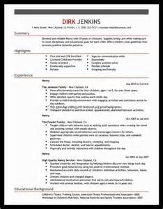 Child Care Sample Resume Child Care Resume Samples Australia Alexa Resume