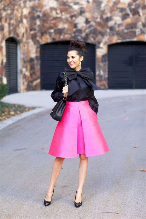 Style Kates Blouse by Kate Spade Pink Skirt Pink Peonies My Looks