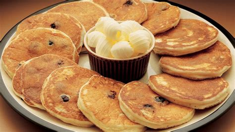 blueberry pancake recipe sour cream blueberry pancakes recipe from pillsbury com