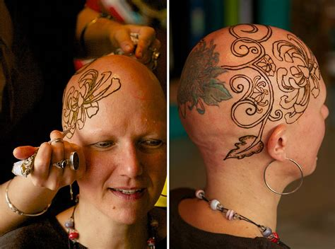 henna tattoo cancer beautiful henna crowns help cancer patients overcome their