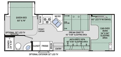 four winds rv floor plans four winds rv floor plans rv inventory search result