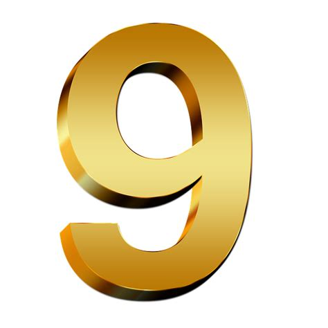 Letter Number 9 Kostenlose Illustration Zahlen Gold Neun Zahl Ziffer Kostenloses Bild Auf Pixabay 634906