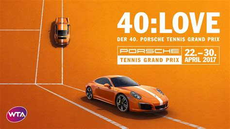 Porsche Open Tennis by 40 Jahre Porsche Tennis Grand Prix