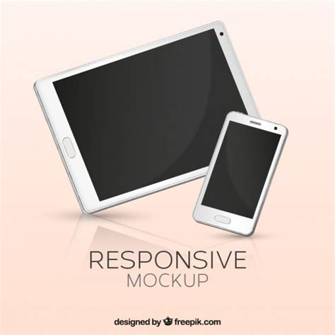 mobile tablet phone mobile phone and tablet vector free