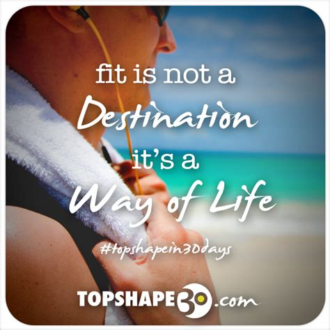 design is a way of life design quote fit is not a destination it s a way of life