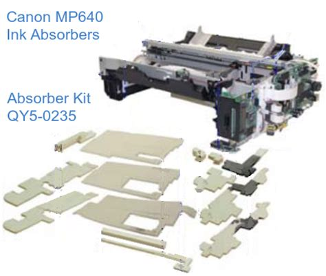 canon printer ink absorber replacement printer canon canon pixma mp640 and related printers control panel