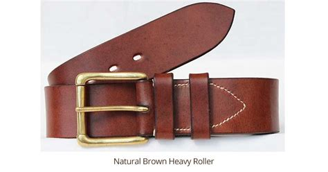 Custom Handmade Leather Belts - 2 quot classic handmade leather belt custom belt made to