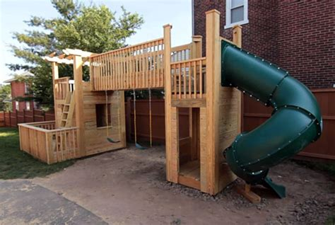 backyard playset plans the ultimate collection of free diy outdoor playset plans