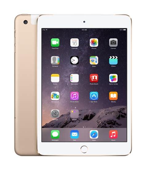 Mini 1 Cellular apple mini 3 wi fi cellular 64gb gold mh392ll a