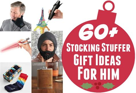 60 stocking stuffer gift ideas for him