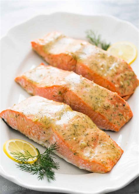 honey mustard baked salmon quick easy healthy simplyrecipes com