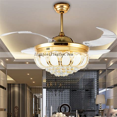ceiling fan with foldable blades 42inch led ceiling fan with foldable blades gold