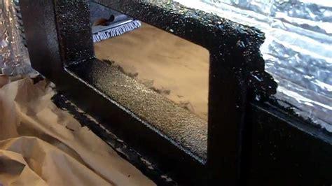 Speaker Design by Silverado Subwoofer Blow Through Build Vlog 9 Bed Liner